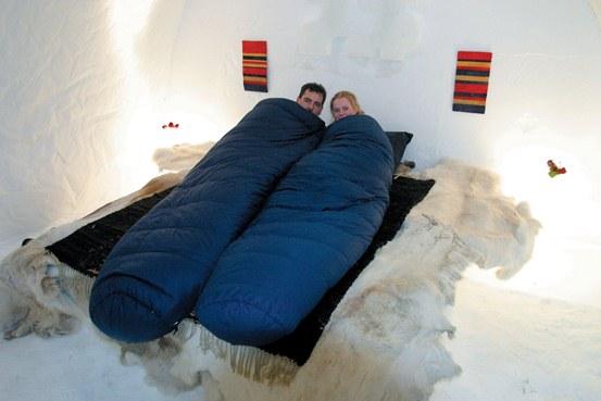 Dormir en un igú